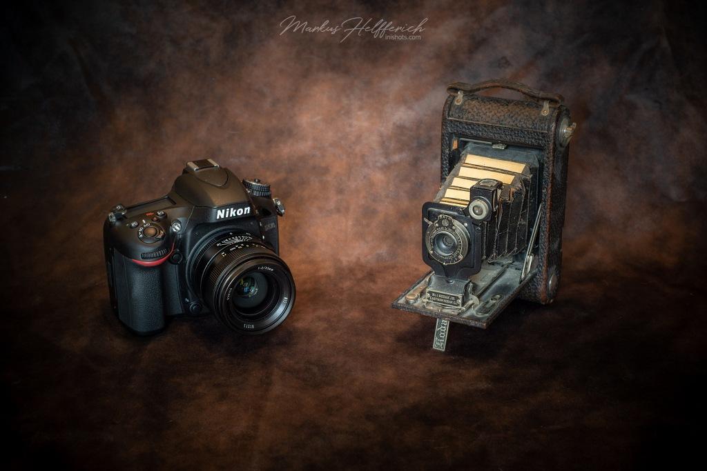 Nikon D610 vs. Kodak 1 Junior